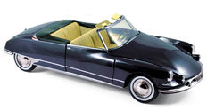 Norev - Scale 1/18 - Citroën DS 19 Convertible (chapron) - Royal Blue