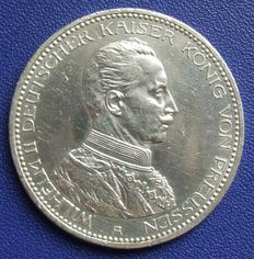 Prussian empire - 5 mark 1913 A - silver
