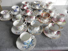 16 Royal Albert Cups and saucers