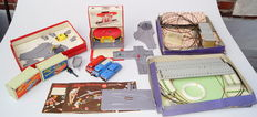 SCHUCO, US zone/Western Germany - Lot of Varianto boxes with cars, gas station... 50s