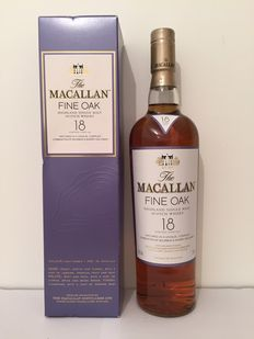 The Macallan 18 years old – Fine Oak