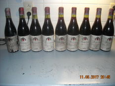 9 bottles bougonge alexis lichine e cie 1971
