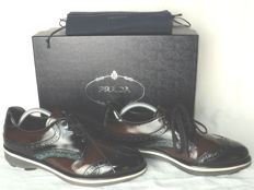 Prada - Lace Up Derby Shoes