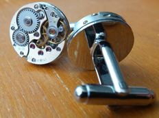 Handmade cufflinks, movement – 16 mm