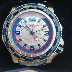 Stührling Prestige  Worldtimer limited edition Swiss precision GMT Men´s wristwatch