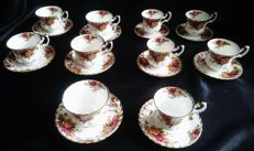 "Royal Albert  ""Old Country Roses"" - 20 pieces"