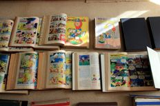 Donald Duck Weekblad - 25 private bindings + 2 separate half-years hc - 1st edition (1955/1969)