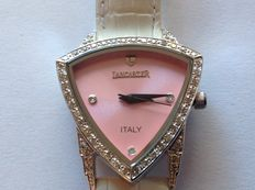 Lancaster - ladies' watch - 57 real diamonds - Italian registered design - never worn
