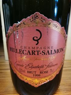 1998 Billecart-Salmon Cuvee Elisabeth Salmon Brut Rosè Millesime - 1 bottle