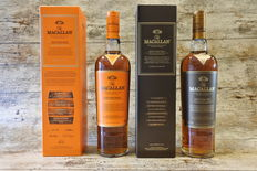 The Macallan Edition No.1 & 2 (Limited Edition) in original boxes