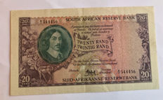 South Africa - 20 rand ND (1962-65) - Pick 108A