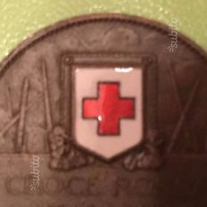 Italy – Red Cross medallion coin, 1915 (1 coin)