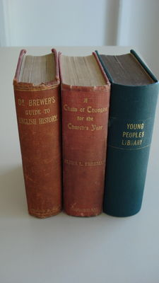 A lot of three books in English for young people - 1848 / 1905