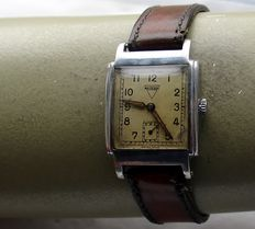 REUSSER * typical Art Deco men's watch * 1930s