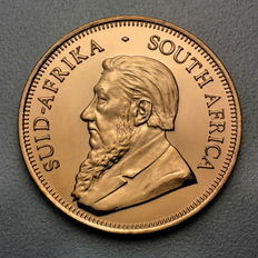 South Africa - RAND refinery Krügerrand / gold Krügerrand gold coin - vintage 1994