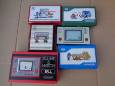 lot of 6 x game and watch inc zelda
