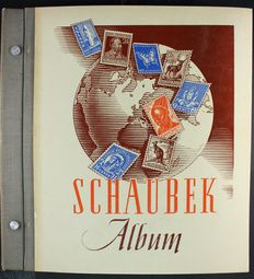 World – collection in Schaubek album