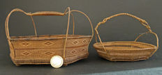 Woven baskets – Northern Thailand – 2nd half of the 19th century