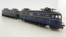 Roco H0 - 43615 - Double traction unit with 2 multifunctional electric locomotives Series 1000 of the NS no. 1010