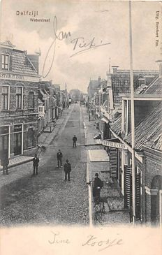 Groningen 80 x-city and province cards, mainly quality cards.