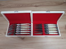 6 Steak knifes and forks from Laguiole