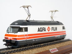 "Märklin H0 - 88363 - Electric locomotive, Series 460 ""Agfa Film"" of the SBB CFF FFS"
