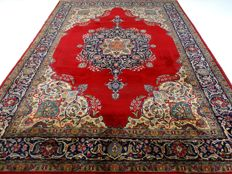 "Tabriz – 354 x 254 cm – ""Vintage eye-catcher – Oversized Persian carpet in beautiful condition"""