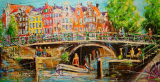 Mathias - Canal of Amsterdam, sunny morning
