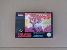 Snes game Zero the Kamikaze boxed and complete. - Rare
