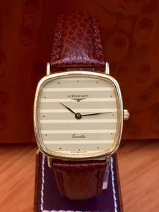 Longines Classic. Men's watch. Quartz. Year: 1980s.