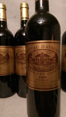 2005 Chateau Batailly, Pauillac - 6 bottles (750ml)