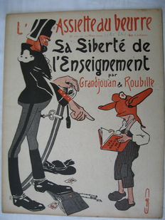 Satire; L'Assiette au beurre - 6 issues - 1904