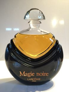 "Giant perfume bottle ""Magie Noire"" by Lancôme, France from the 90s."