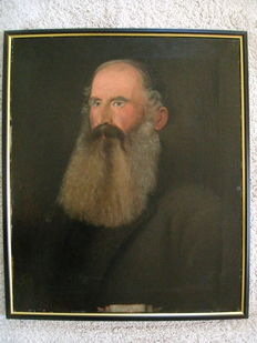 Unknown (19th century) - Man with grey beard