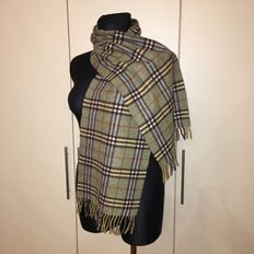 Burberry - Merino Wool and Cashmere blend Scarf