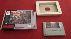 Super Castelvania 4 - SNES - PAL version.