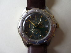 Accurist MS129 dual tone chronograph WR50