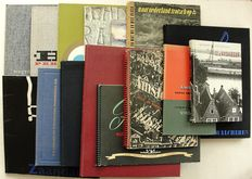 Corporate photography; Lot with 16 publications, with photos of i.a. Schuitema, Oorthuys, Austria, Andriesse, etc. - 1940 / 1967