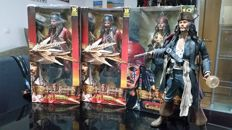 Lot of 4 figures Pirates of the caribbean