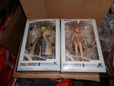 2 Final Fantasy XIII figures boxed.