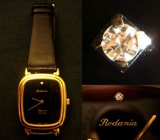 Rodania Diamant Quartz – vintage unisex watch – 1970s