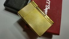S.T. Dupont case and gold plated lighter