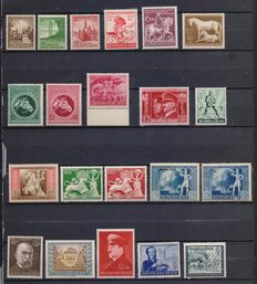 Germany, Third Reich – Lot of stamps