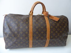 Louis Vuitton Keepall 55 - Travel Bag / handbag