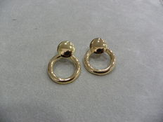Women's earrings – Gold (750/1000) – From 1970.