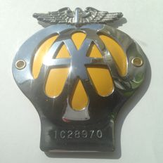 English Roads Assistance shield; AA. circa 1962