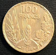 France – 100 Francs 'Bazor' 1936 – Gold