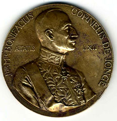Dutch East Indies - Memorial token Quinquennium 'Governor General De Jonge 1931-1936' - bronze