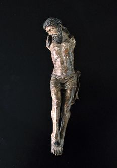 Christ Crucified Sculpture - XVIth Century
