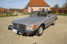 Mercedes-Benz - 450 SL Roadster - 1980